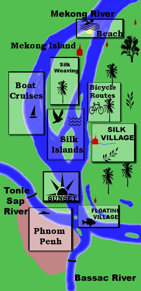 Silk Islands Map