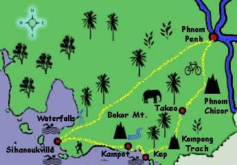 Cambodia Coast Tour