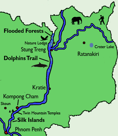 River Route Map