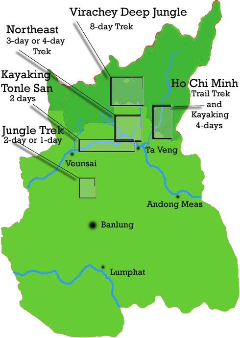 Ratanakiri Map