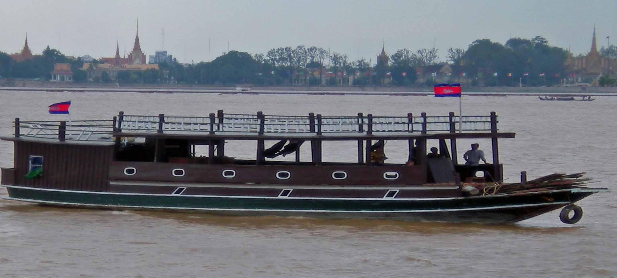 Phnom Penh River Boat