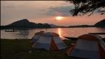 Mekong River Island Camping